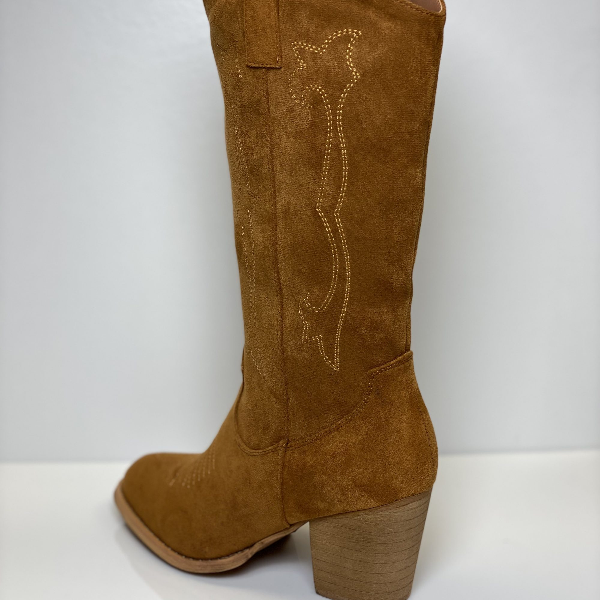 WESTERN BOOTS HIGH CAMEL